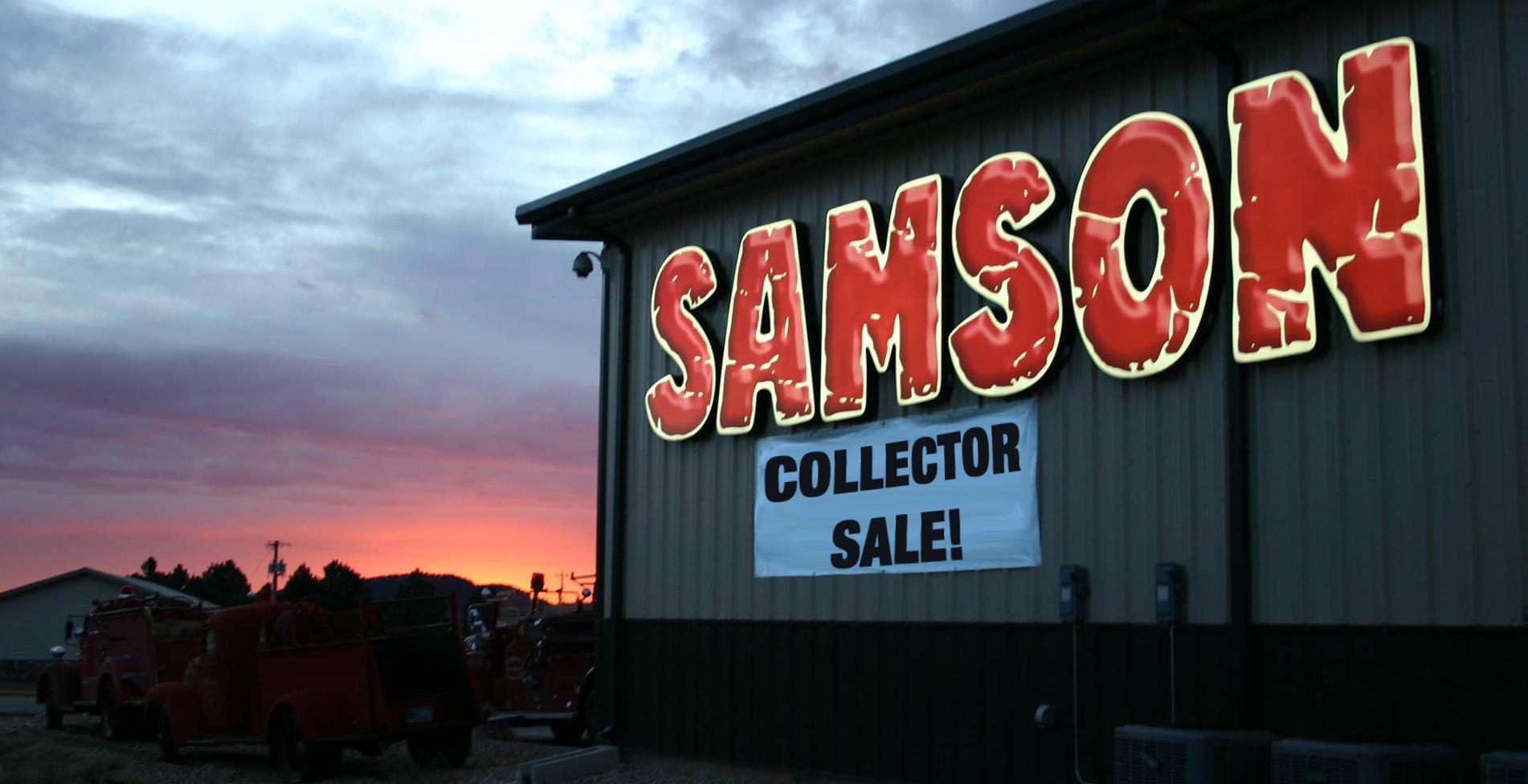 Huge Collector Sale at Samson Exhaust
