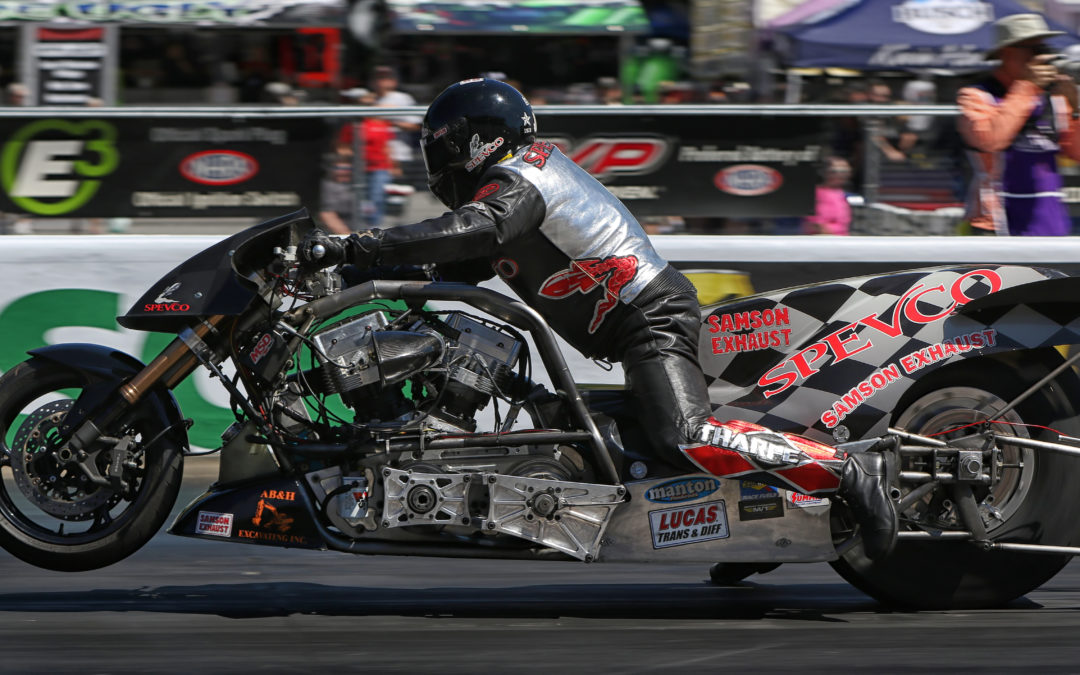 Samson Exhaust Goes Top Fuel Harley Racing