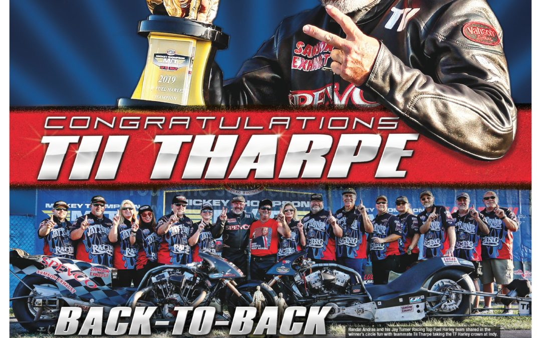TFH Champ in National Dragster!